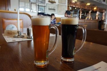 Světlý Ležák and Tmave at Strahov Monastery brewery