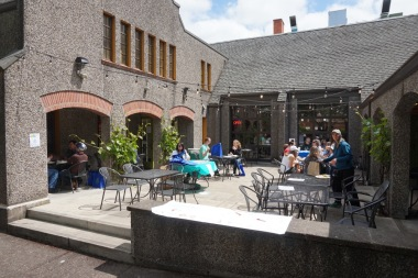 The front patio at Publichouse