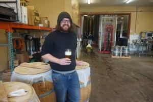 Oakshire brewer Dan Russo